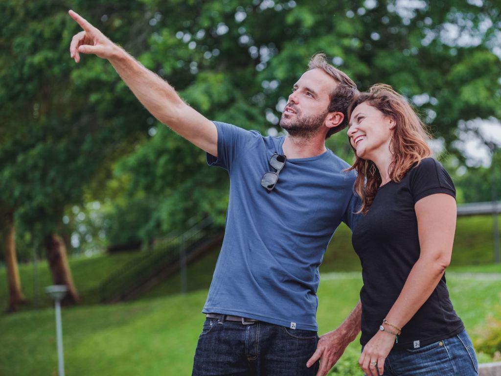 tee-shirt Mr Colibri et Mme Mésange